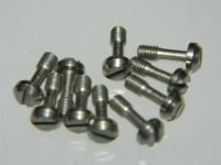 10 x M3 Screws Pan Head Slotted Fastener Length 9mm [P17]
